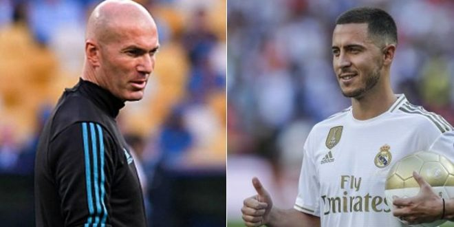 هازارد يطالب زيدان بضم جوهرة بلجيكا إلى ريال مدريد