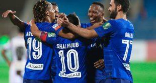 لاعبي الهلال السعودي