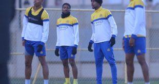 لاعبي النصر السعودي