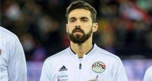 نجم نادي بيراميدز ومنتخب مصر عبد الله السعيد
