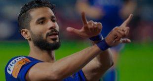 الشهري لاعب الهلال السعودي