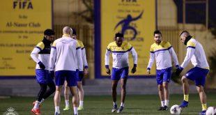 لاعبوا النصر السعودي