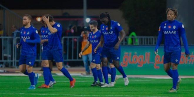 لاعبوا الهلال السعودي