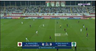 الشوط الأول لمباراة الوحدة الإماراتي والأهلي السعودي بتاريخ 2020-02-10 دوري أبطال آسيا
