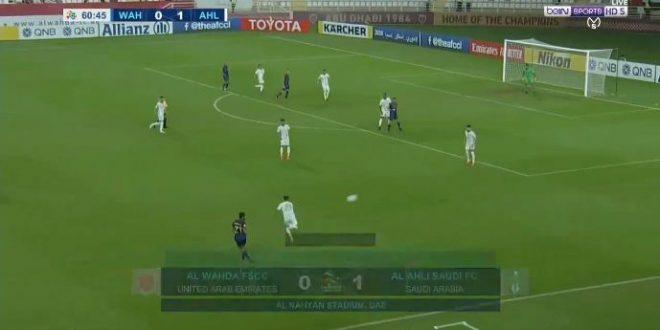 ملخص مباراة الاهلي السعودي والوحدة الاماراتي