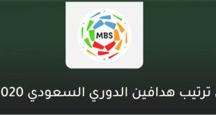 جدول ترتيب الدوري السعودي 2019-2020