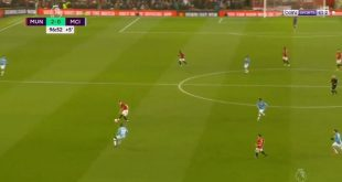 هدف مانشستر يونايتد الثاني في مرمى السيتي