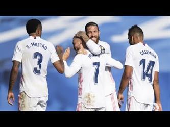 ملخص مباراة وأهداف (ريال مدريد 4 - 1 هويسكا)