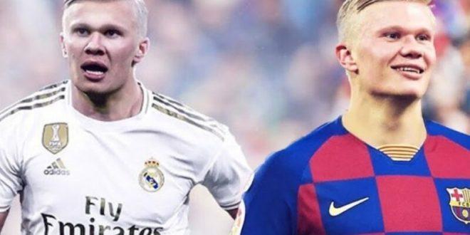 haland - real madrid - barcelona