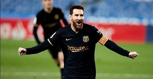messi barcelona the best