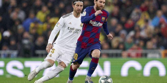 MESSI & RAMOS - BARCELONA VS REAL MADRID