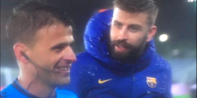 barcelona -real madrid - referee