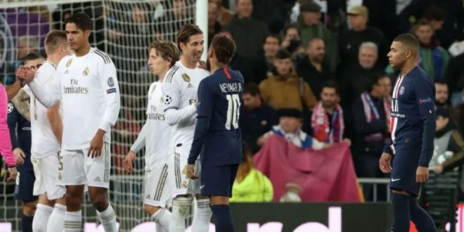 Real-Madrid-v-Paris-Saint-Germain-Group-A---UEFA-C-